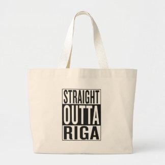 gerades outta Riga Jumbo Stoffbeutel