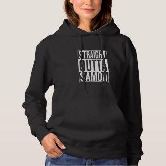gerades outta Samoa-Inseln Hoodie