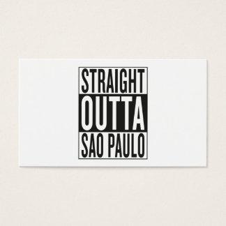 gerades outta Sao-Paulo Visitenkarte