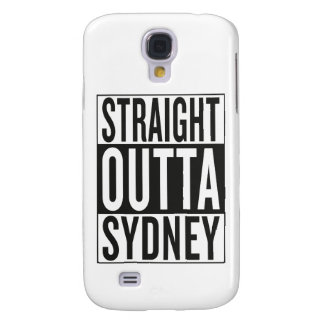 gerades outta Sydney Galaxy S4 Hülle