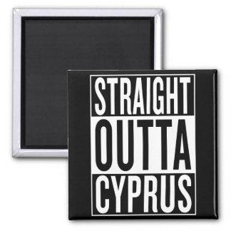 gerades outta Zypern Quadratischer Magnet