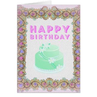 Gerahmte Geburtstags-Karte Karte