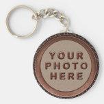 Gerahmtes personalisiertes Foto Keychains für Männ Schlüsselanhänger