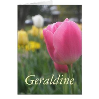 Geraldine Karte