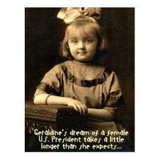Geraldine Traum Postkarte