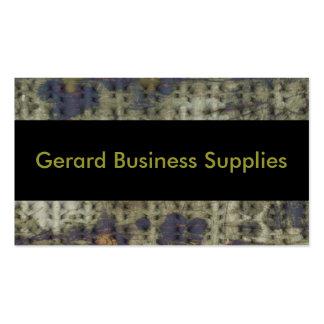 Gerard Geschäfts-Versorgungen Visitenkarten