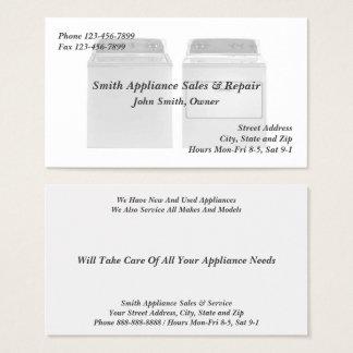 Geräteverkaufs-und Visitenkarte