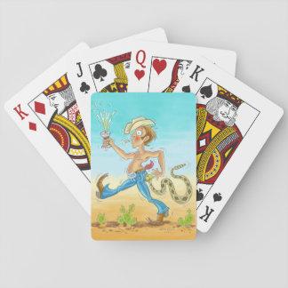 """""""Geratterte"""" Spielkarten"""