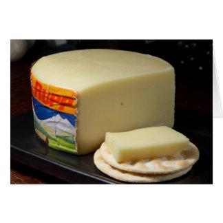 Geräucherter österreichischer Käse Karte