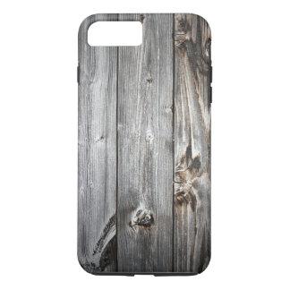 Geräuchertes hölzernes Muster iPhone 8 Plus/7 Plus Hülle