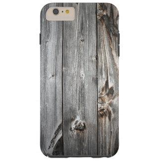 Geräuchertes hölzernes Muster Tough iPhone 6 Plus Hülle