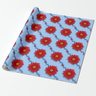 Gerbera-Blume Geschenkpapier