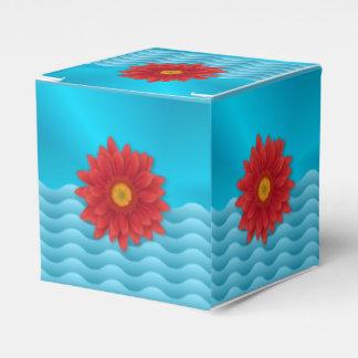 Gerbera-Blume Geschenkschachtel