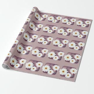 Gerbera-Blumen Geschenkpapier