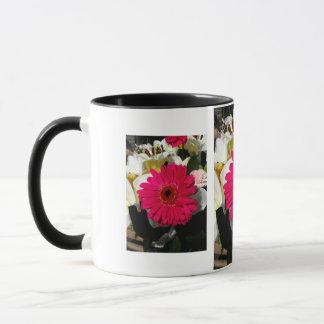 Gerbera-Blumen Tasse