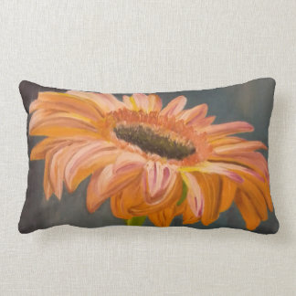 Gerbera flower lendenkissen