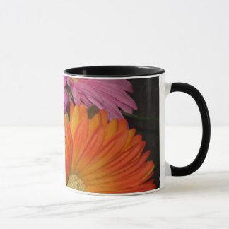 Gerbera-Gänseblümchen-Garten Tasse