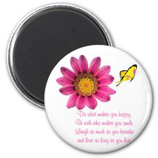 Gerbera-Gänseblümchen Magnets