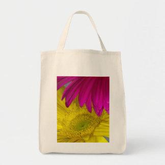 Gerbera-Gänseblümchen-Taschen-Tasche Einkaufstasche