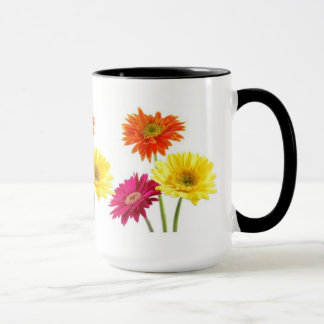 Gerbera-Gänseblümchen Tasse