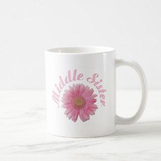 Gerbera-Mitte-Schwester Kaffeetasse
