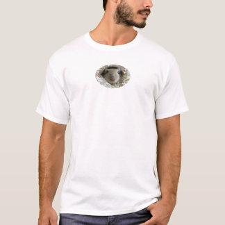 Gerbil auf langem Damen-T-Stück T-Shirt