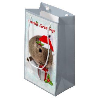 Gerbil-Gruß-Geschenk-Tasche Kleine Geschenktüte