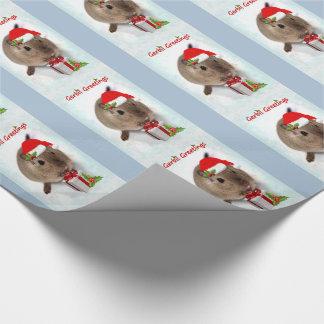 Gerbil-Gruß-Packpapier Geschenkpapier