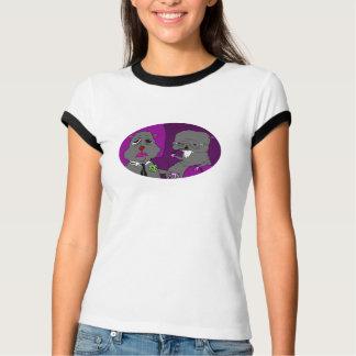 Gerbils-Damen-Wecker-Shirt T-Shirt