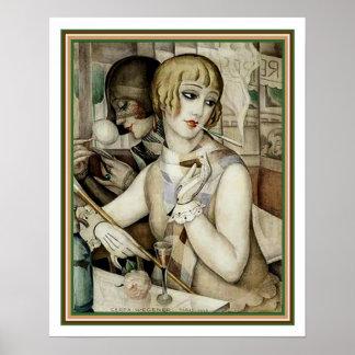 Gerda- u. Lili#2 Kunst-Deko-Druck 16 x 20 Poster