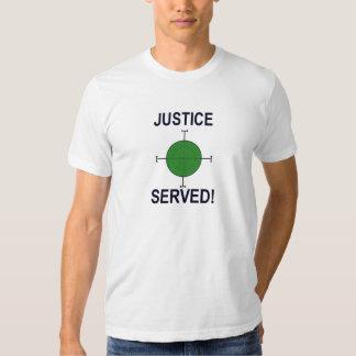 Gerechtigkeit gedientes T'Shirt T-Shirts