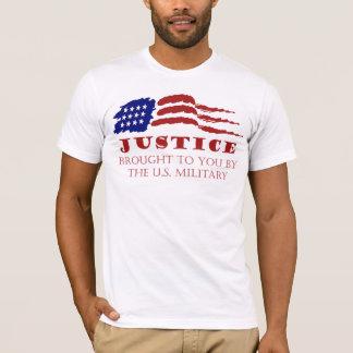 GERECHTIGKEIT holte Ihnen durch das US-Militär T-Shirt