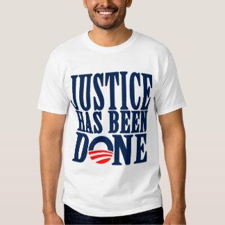 Gerechtigkeit ist erfolgt worden t-shirt