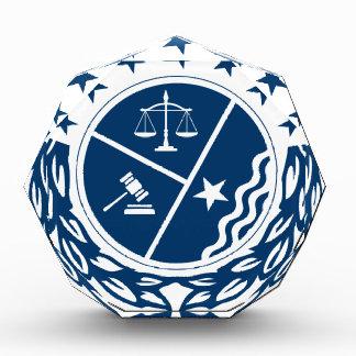 Gerechtigkeits-Anhänger-Wappen Auszeichnung