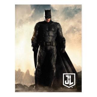Gerechtigkeits-Liga | Batman auf Schlachtfeld Postkarte