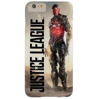 Gerechtigkeits-Liga| Cyborg auf Schlachtfeld Barely There iPhone 6 Plus Hülle