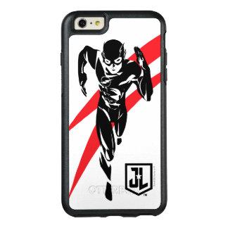 Gerechtigkeits-Liga | der Blitz, der Noir OtterBox iPhone 6/6s Plus Hülle