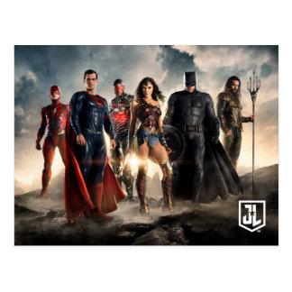 Gerechtigkeits-Liga der Gerechtigkeits-Liga-| auf Postkarte