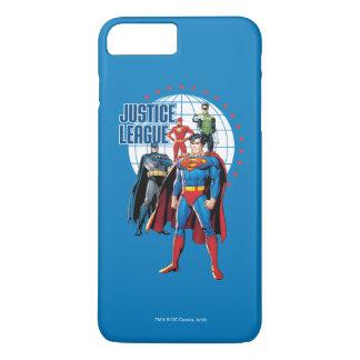 Gerechtigkeits-Liga-globale Helder iPhone 8 Plus/7 Plus Hülle