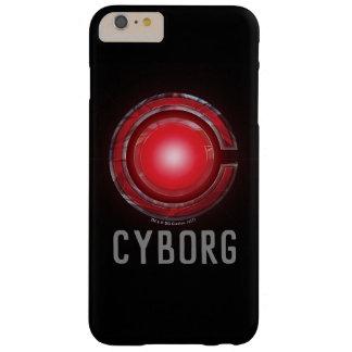 Gerechtigkeits-Liga| glühendes Cyborg-Symbol Barely There iPhone 6 Plus Hülle