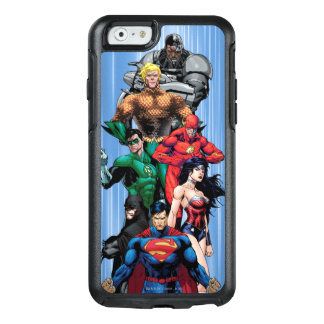 Gerechtigkeits-Liga - Gruppe 3 OtterBox iPhone 6/6s Hülle