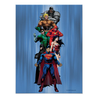 Gerechtigkeits-Liga - Gruppe 3 Poster