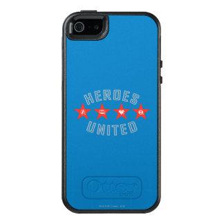 Gerechtigkeits-Liga-Helder lösten Logos OtterBox iPhone 5/5s/SE Hülle