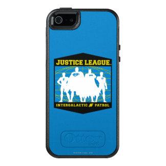 Gerechtigkeits-Liga-intergalaktische Patrouille OtterBox iPhone 5/5s/SE Hülle