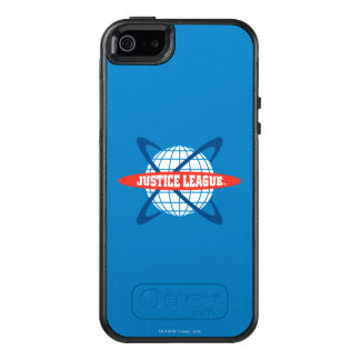 Gerechtigkeits-Liga-Kugel-Logo OtterBox iPhone 5/5s/SE Hülle