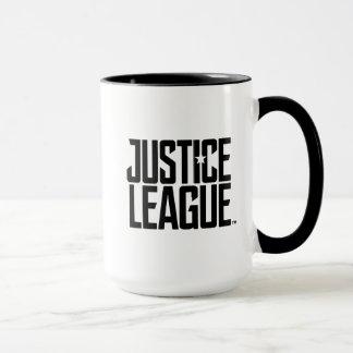 Gerechtigkeits-Liga-Logo der Gerechtigkeits-Liga-| Tasse