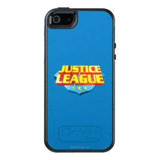 Gerechtigkeits-Liga-Name und Schild-Logo OtterBox iPhone 5/5s/SE Hülle