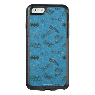 Gerechtigkeits-Liga steigen oben Muster OtterBox iPhone 6/6s Hülle