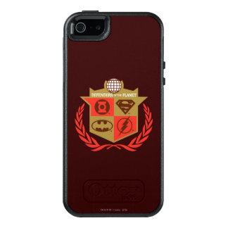 Gerechtigkeits-Liga-Verteidiger des Planeten OtterBox iPhone 5/5s/SE Hülle