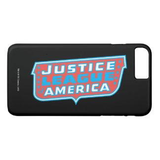 Gerechtigkeits-Liga von Amerika-Logo iPhone 8 Plus/7 Plus Hülle